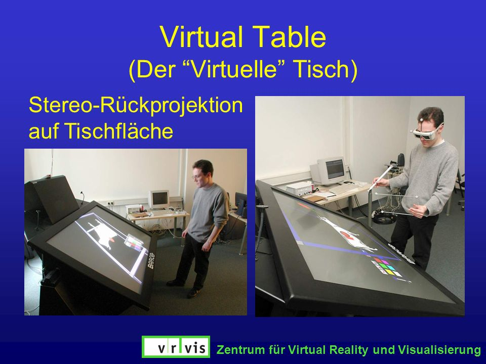 Virtual Table (Der Virtuelle Tisch)