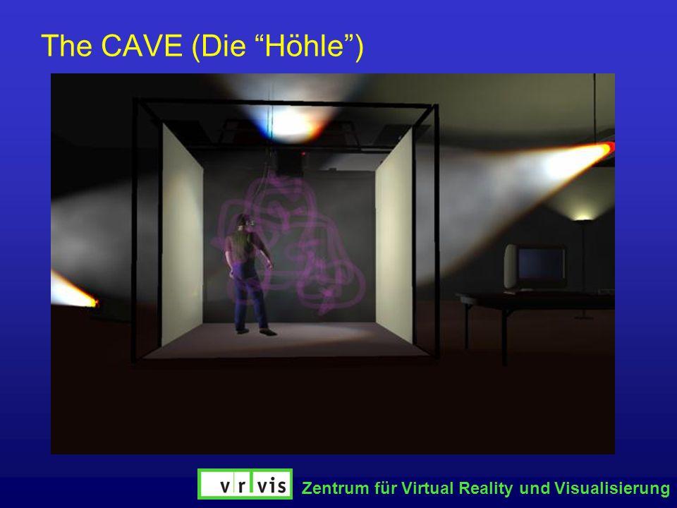 The CAVE (Die Höhle ) Zentrum für Virtual Reality und Visualisierung