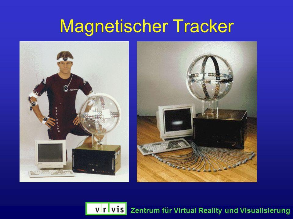 Magnetischer Tracker Zentrum für Virtual Reality und Visualisierung