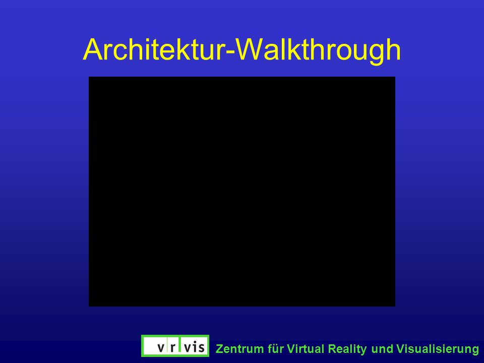 Architektur-Walkthrough