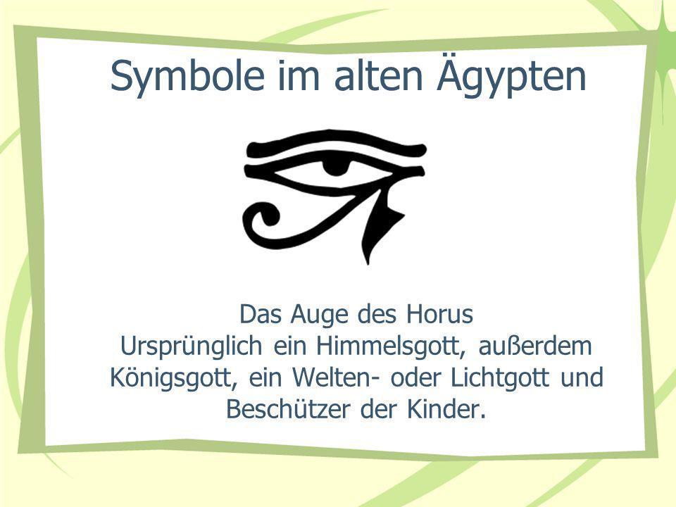 Symbole im alten Ägypten