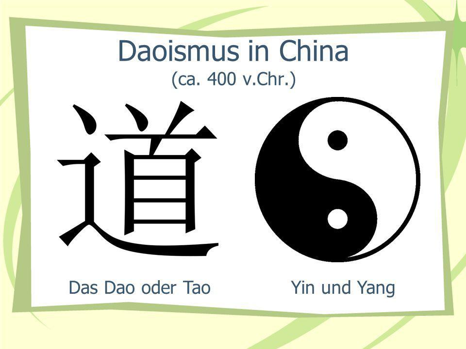 Daoismus in China (ca. 400 v.Chr.)