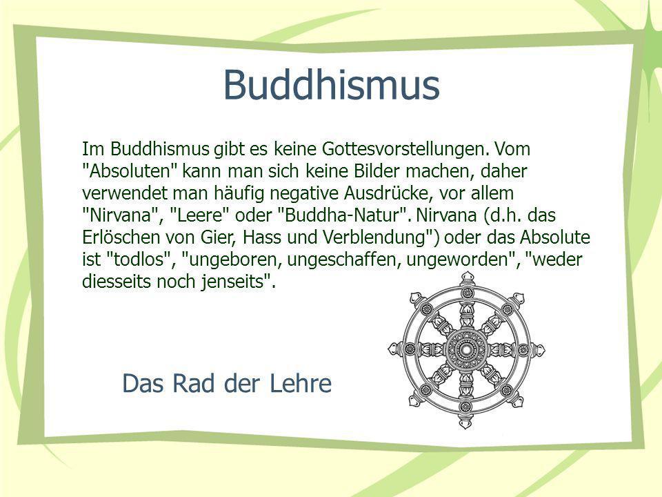 Buddhismus Das Rad der Lehre