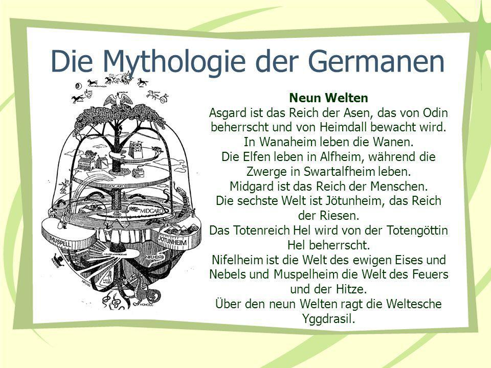 Die Mythologie der Germanen