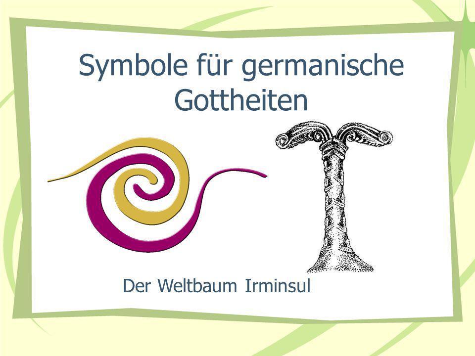 Symbole für germanische Gottheiten