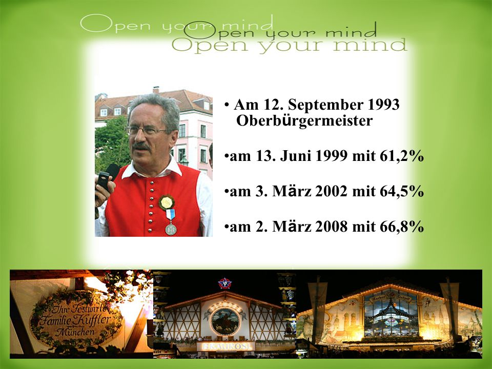 Am 12. September 1993 Oberbürgermeister