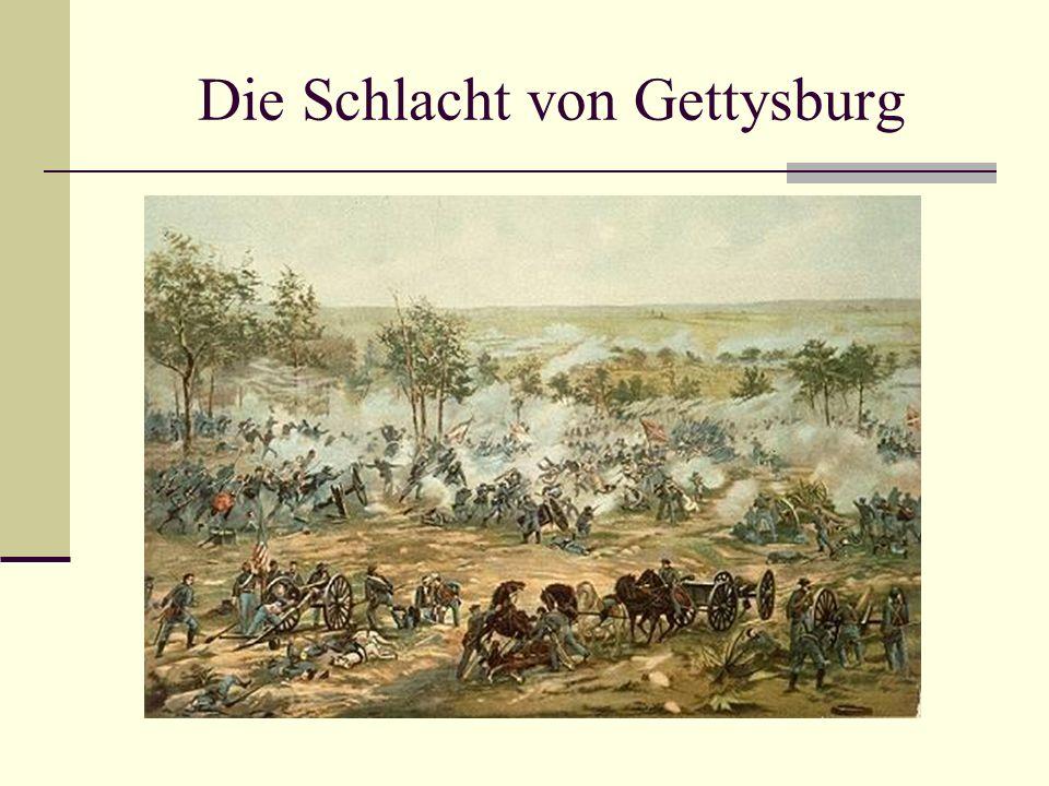 Die Schlacht von Gettysburg