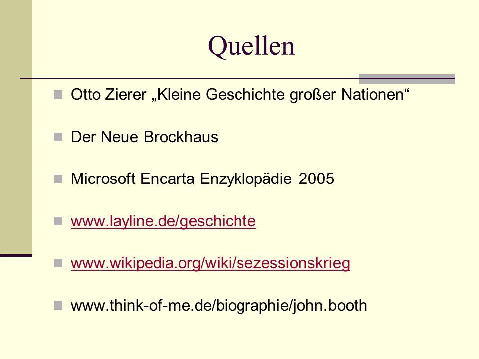 """Quellen Otto Zierer """"Kleine Geschichte großer Nationen"""