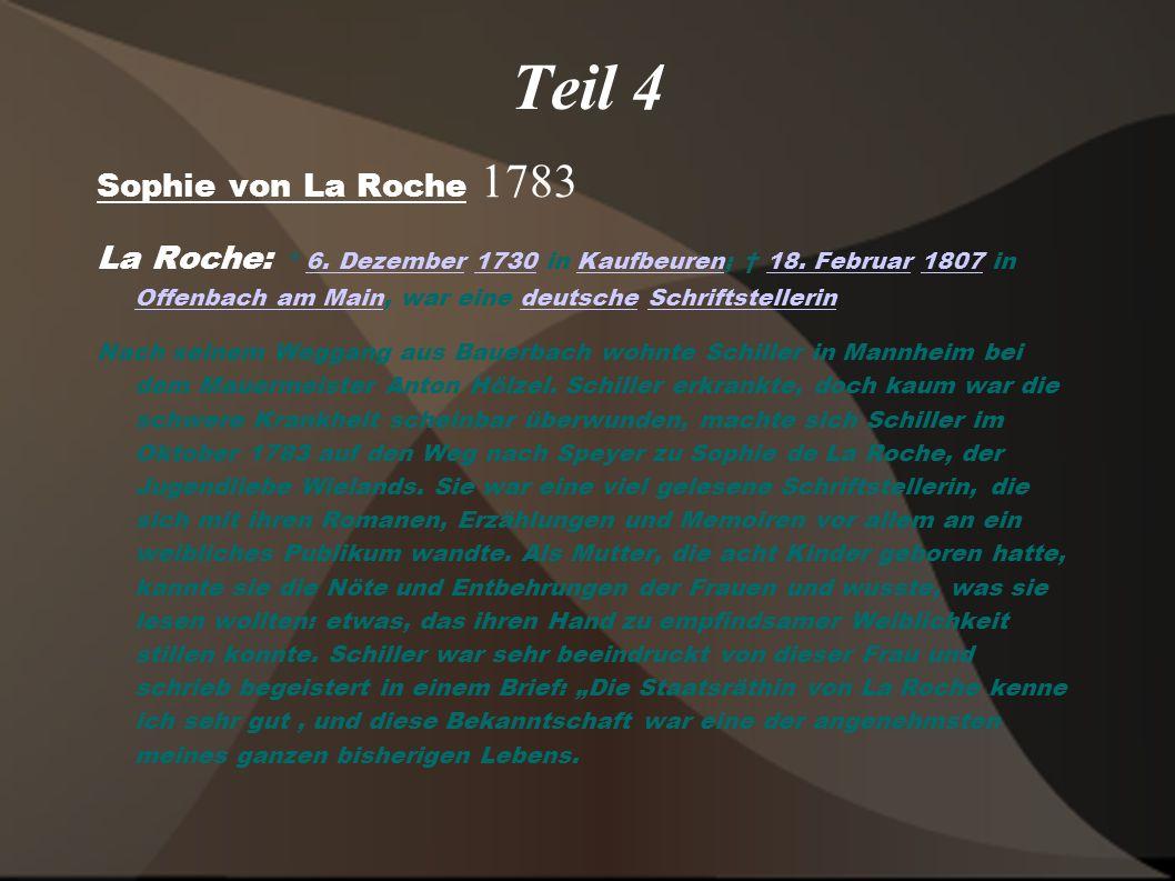 Teil 4 Sophie von La Roche 1783
