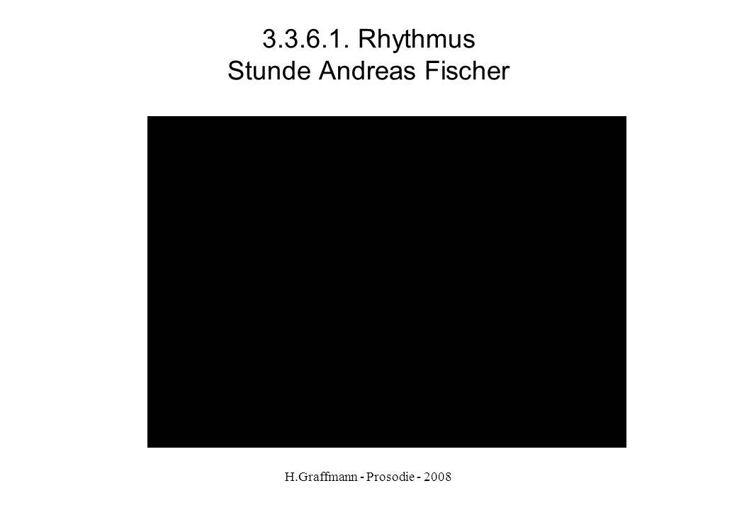 3.3.6.1. Rhythmus Stunde Andreas Fischer