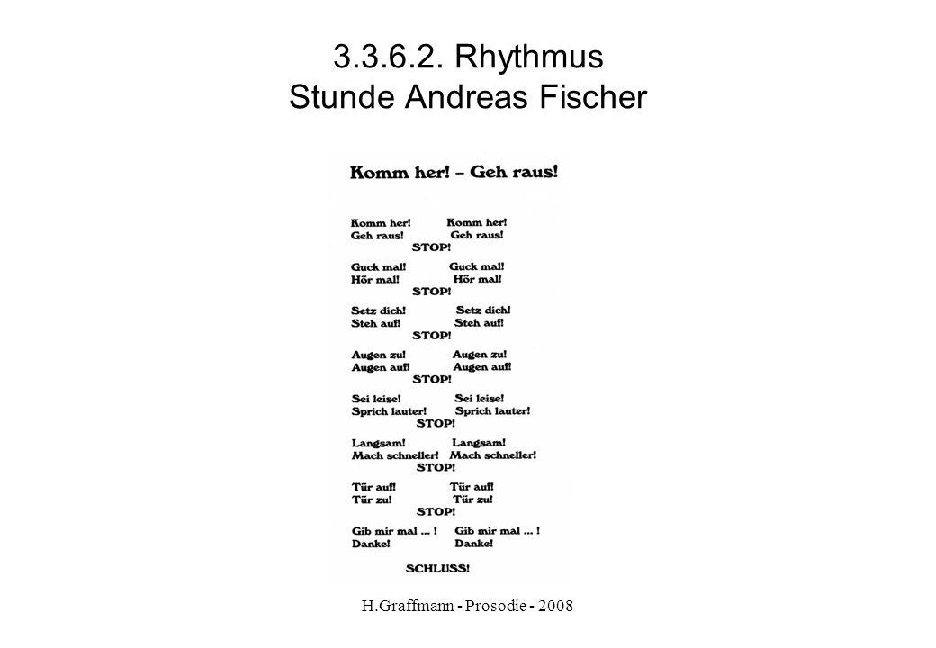 3.3.6.2. Rhythmus Stunde Andreas Fischer