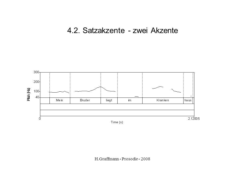 4.2. Satzakzente - zwei Akzente