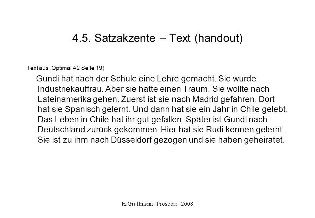 4.5. Satzakzente – Text (handout)