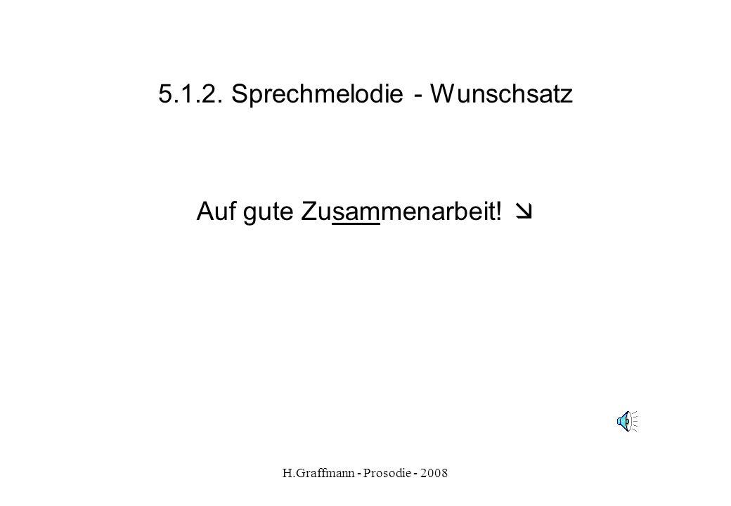 5.1.2. Sprechmelodie - Wunschsatz