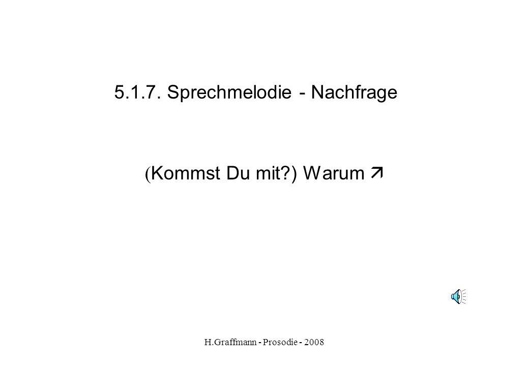 5.1.7. Sprechmelodie - Nachfrage