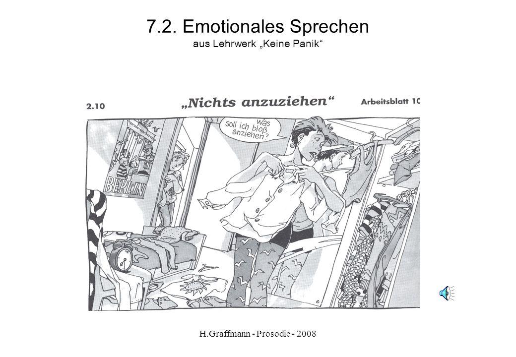 """7.2. Emotionales Sprechen aus Lehrwerk """"Keine Panik"""