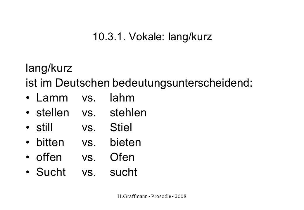 H.Graffmann - Prosodie - 2008