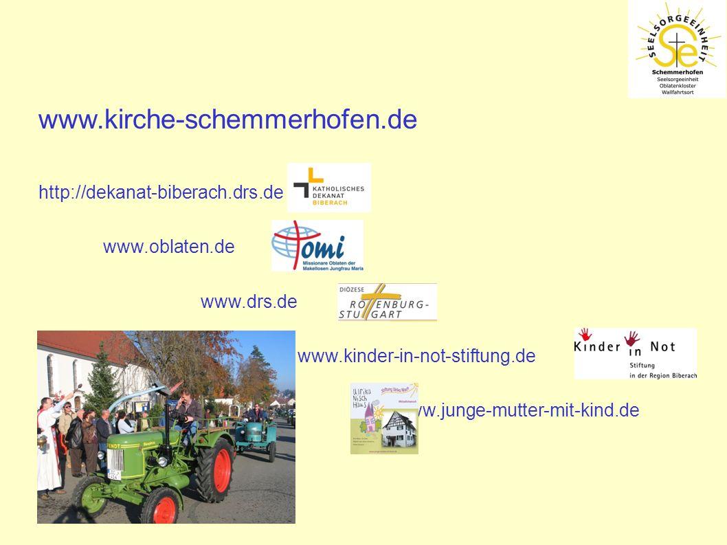 www.kirche-schemmerhofen.de http://dekanat-biberach.drs.de