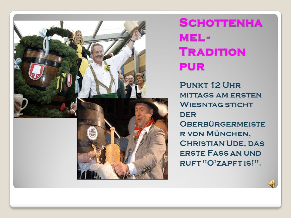 Schottenhamel - Tradition pur