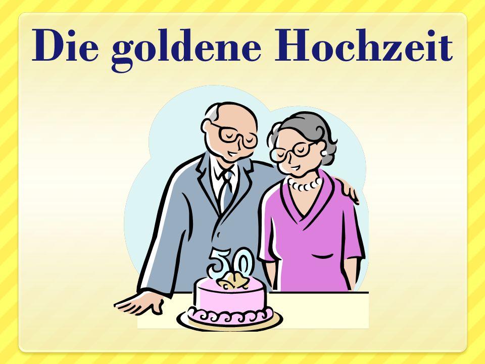 Die goldene Hochzeit