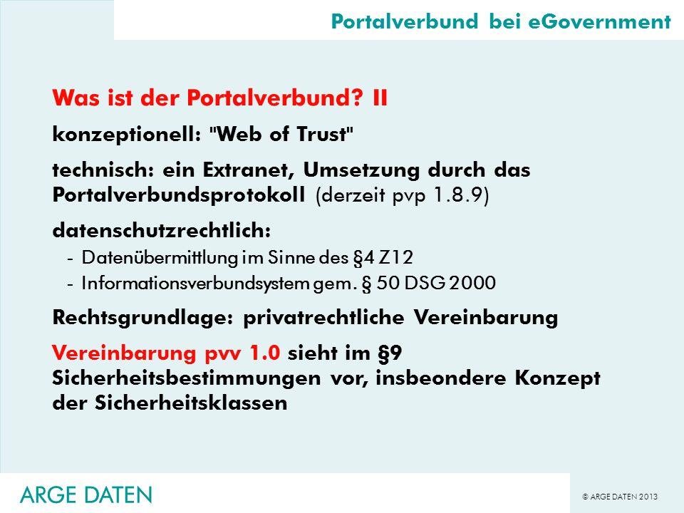 Was ist der Portalverbund II