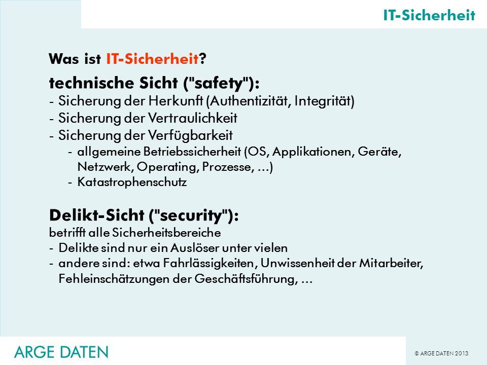 technische Sicht ( safety ):