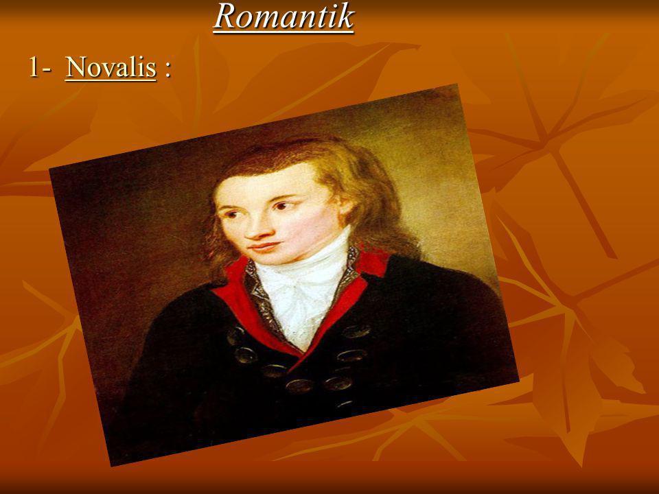 Romantik 1- Novalis :