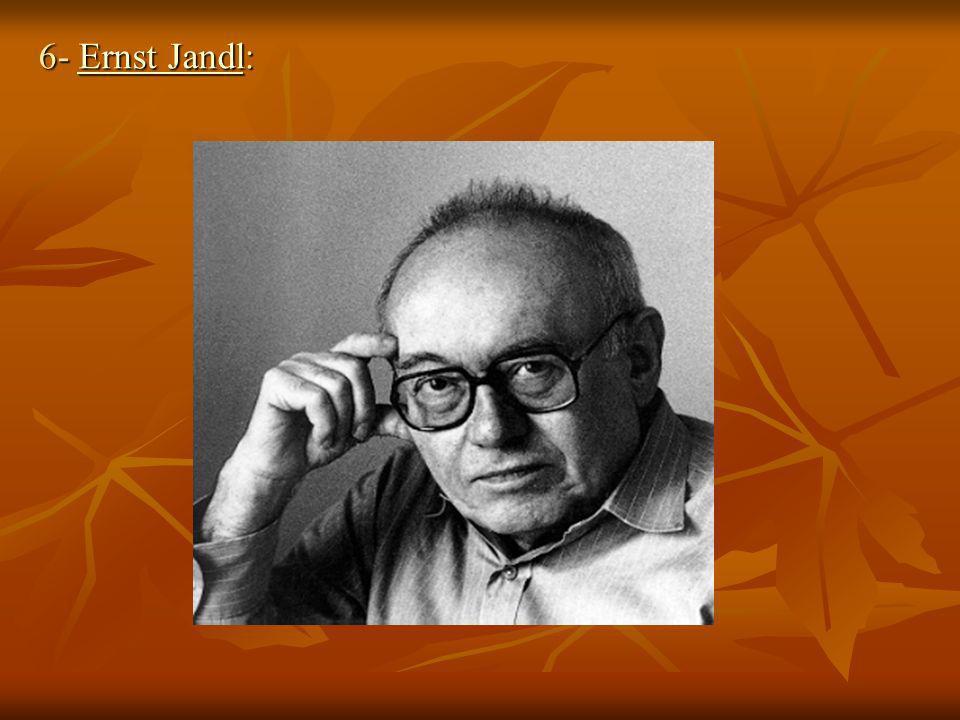 6- Ernst Jandl: