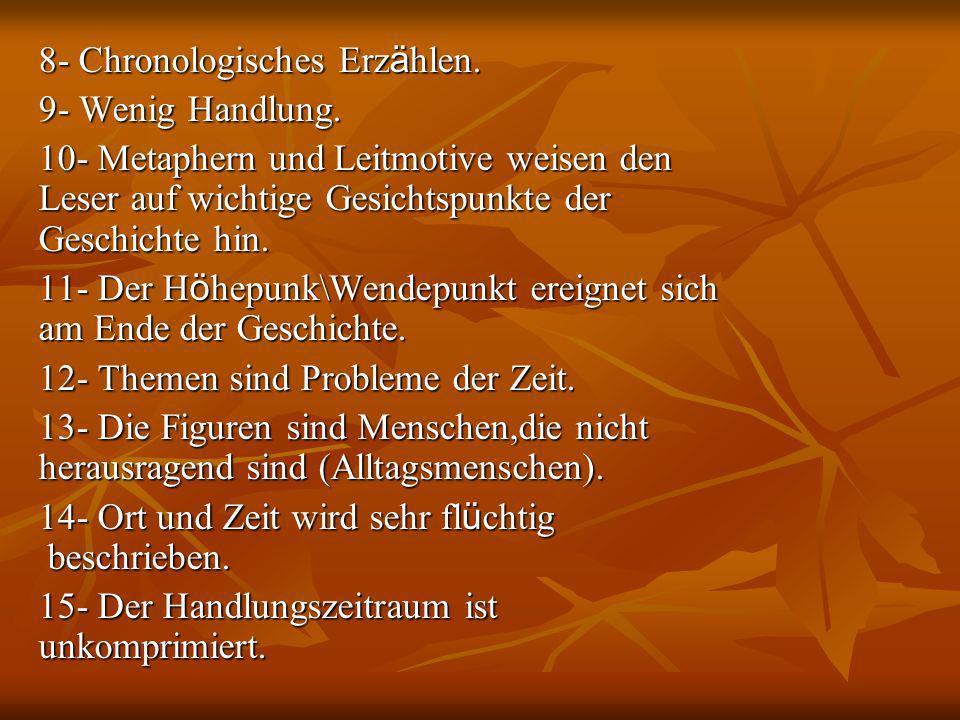 8- Chronologisches Erzählen.