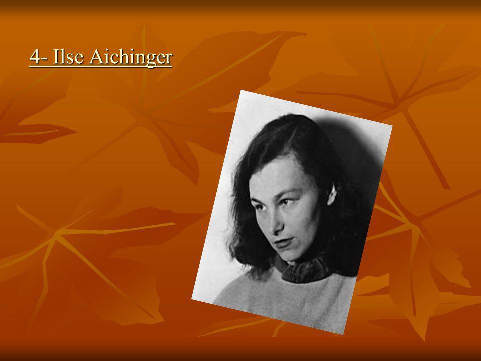 4- Ilse Aichinger