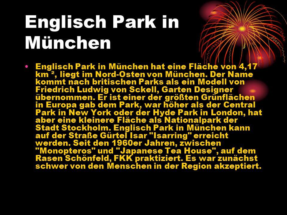 Englisch Park in München