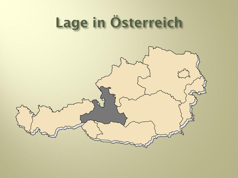 Lage in Österreich