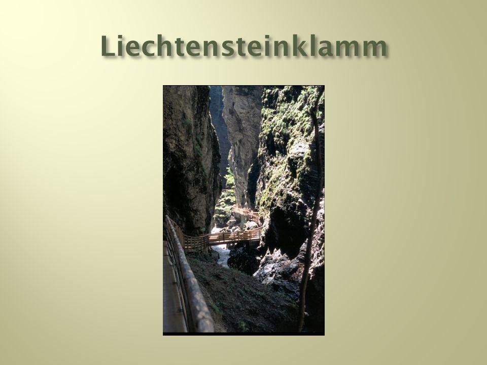 Liechtensteinklamm
