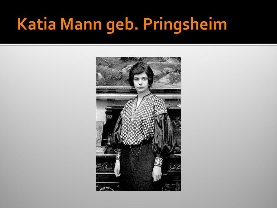 Katia Mann geb. Pringsheim
