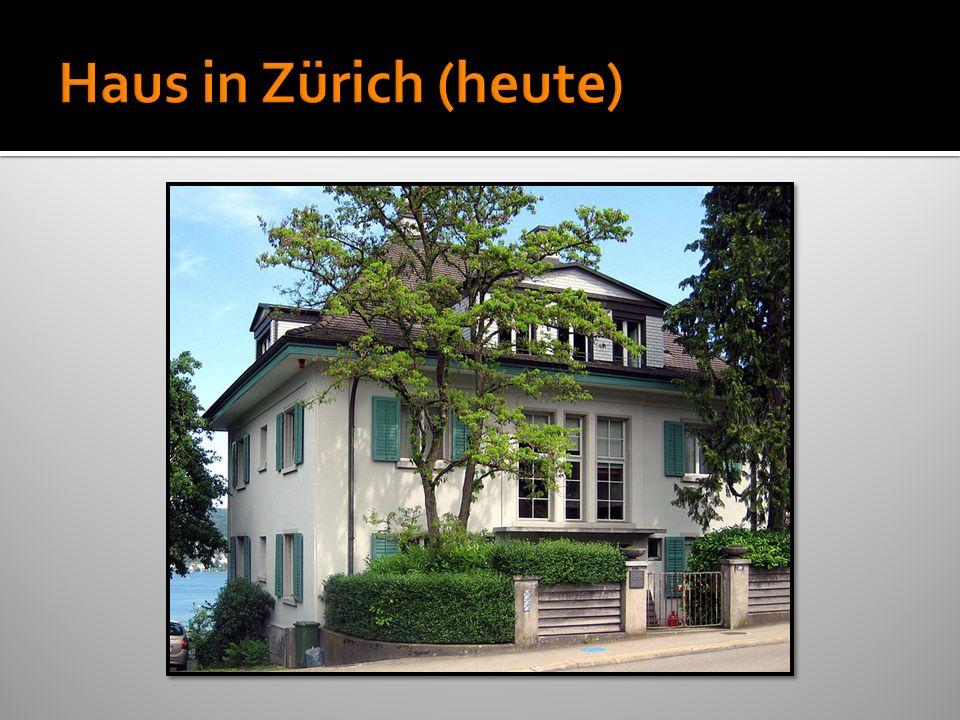 Haus in Zürich (heute)