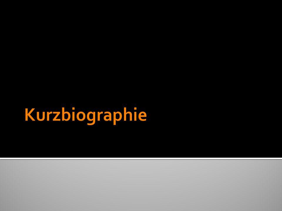 Kurzbiographie