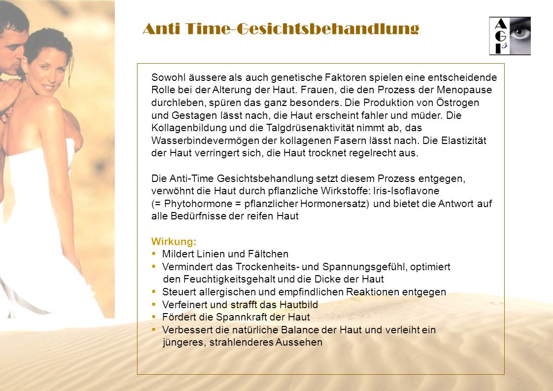 Anti Time-Gesichtsbehandlung