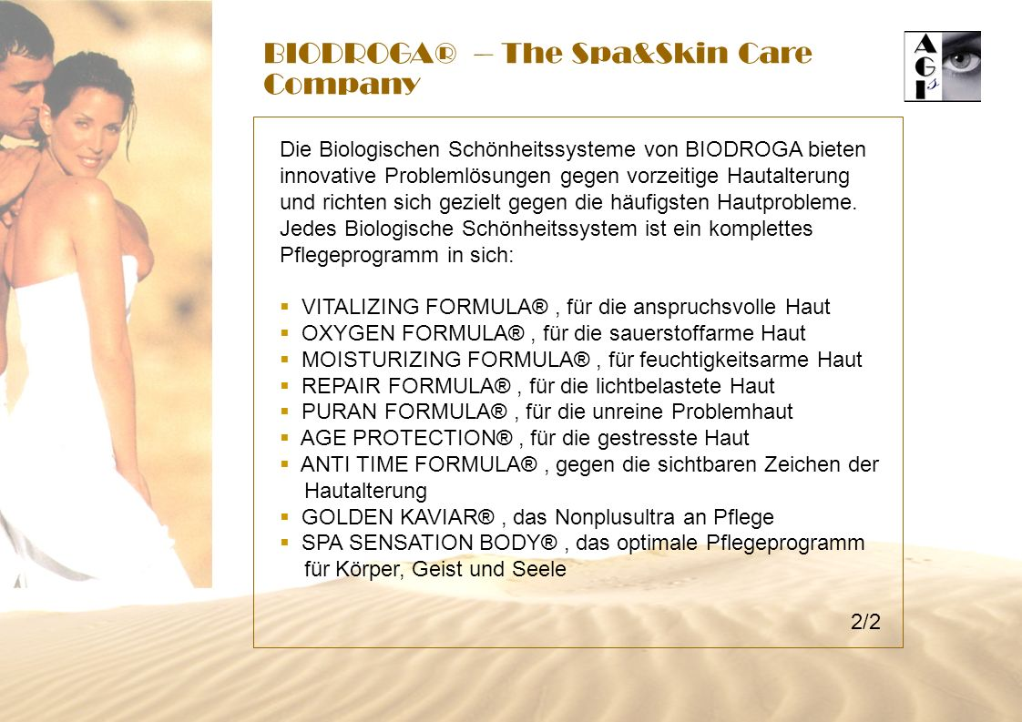BIODROGA® – The Spa&Skin Care Company