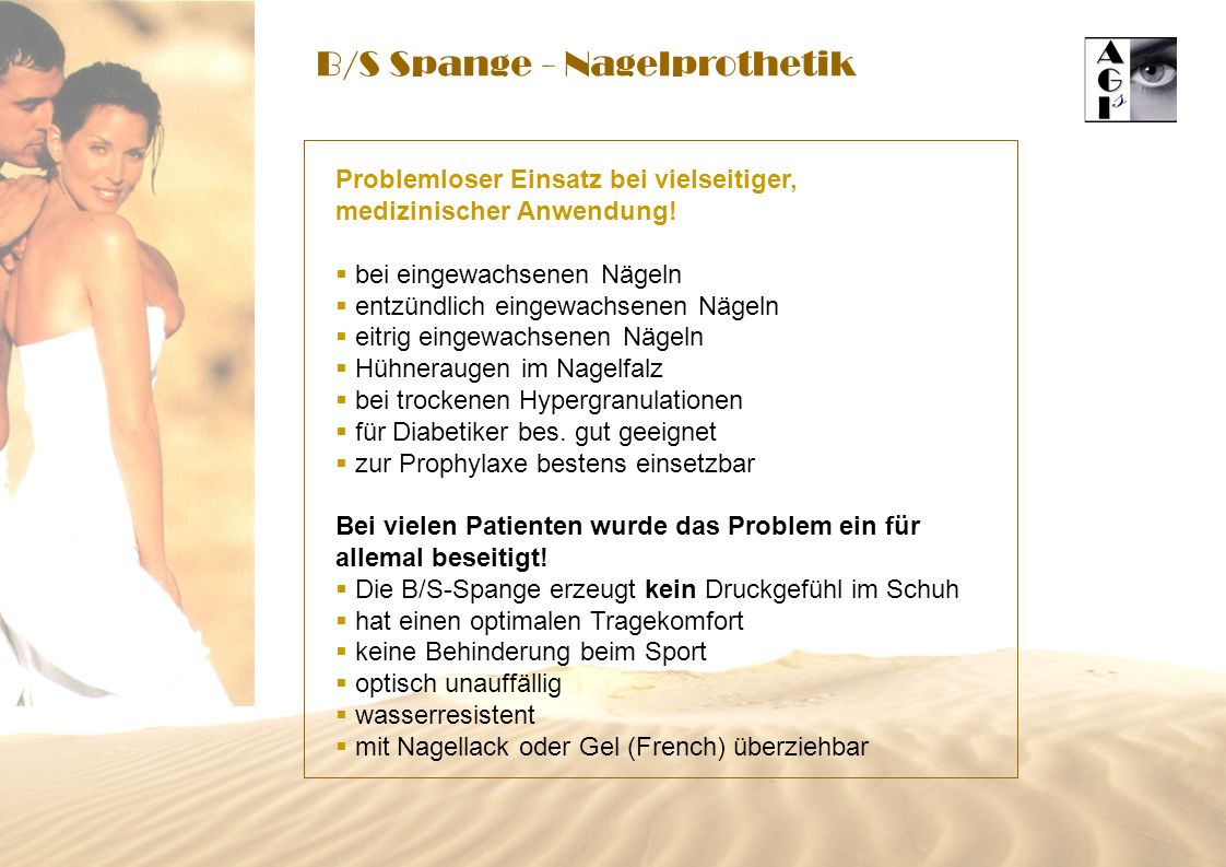 B/S Spange - Nagelprothetik