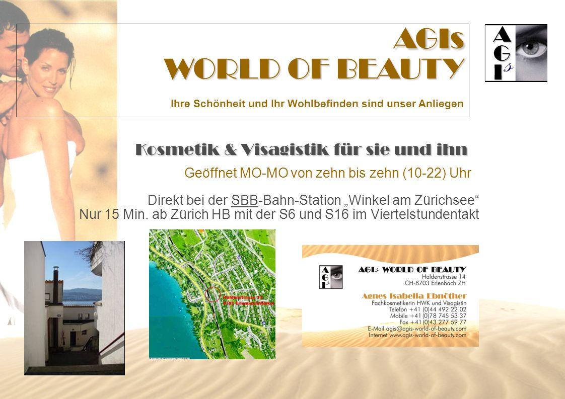 AGIs WORLD OF BEAUTY Kosmetik & Visagistik für sie und ihn