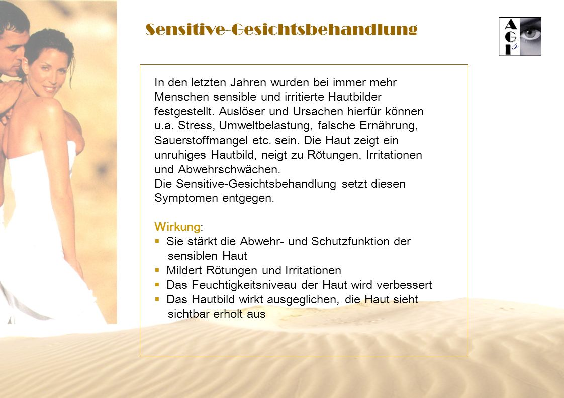 Sensitive-Gesichtsbehandlung