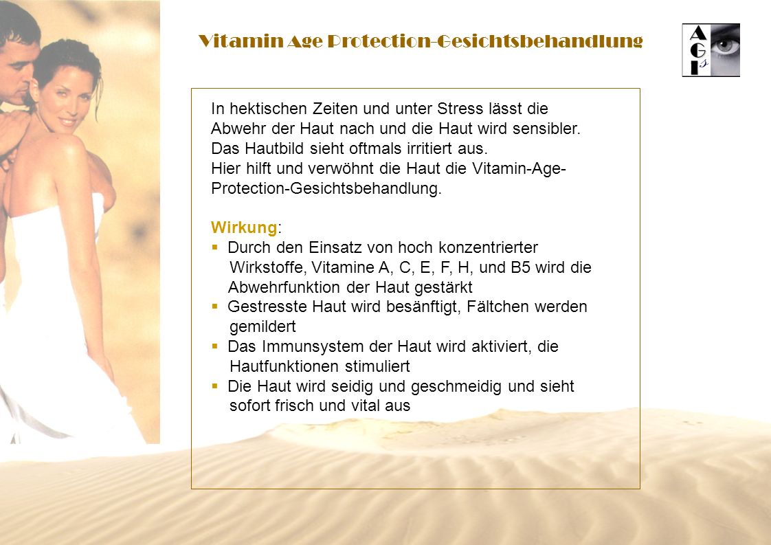 Vitamin Age Protection-Gesichtsbehandlung