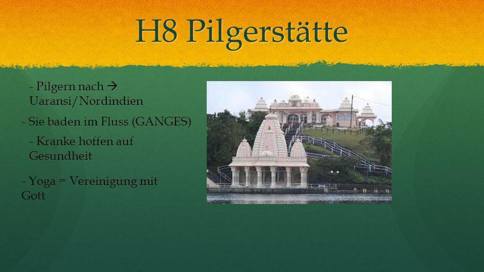 H8 Pilgerstätte - Pilgern nach  Uaransi/Nordindien