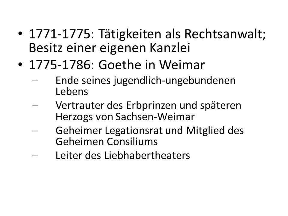 1771-1775: Tätigkeiten als Rechtsanwalt; Besitz einer eigenen Kanzlei