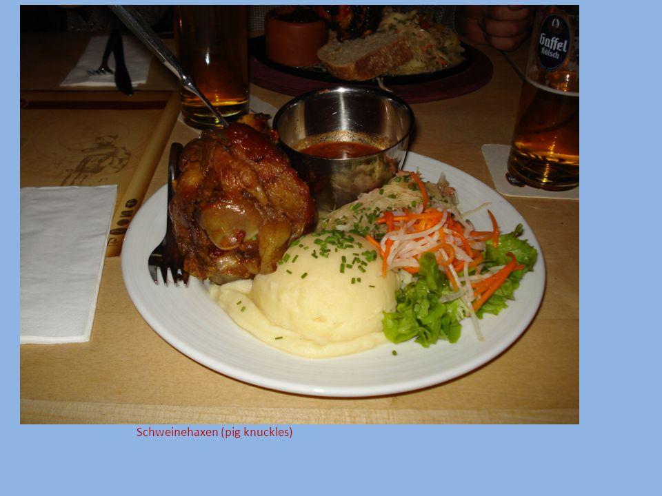 Schweinehaxen (pig knuckles)