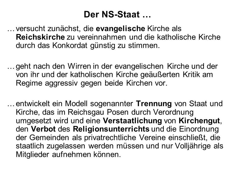 Der NS-Staat …