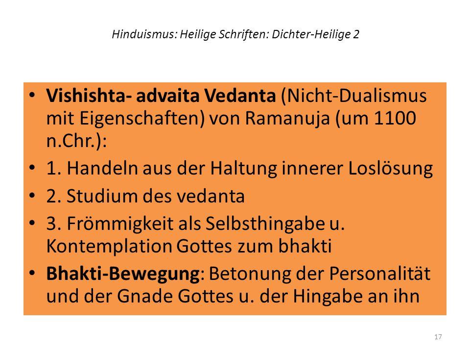 Hinduismus: Heilige Schriften: Dichter-Heilige 2