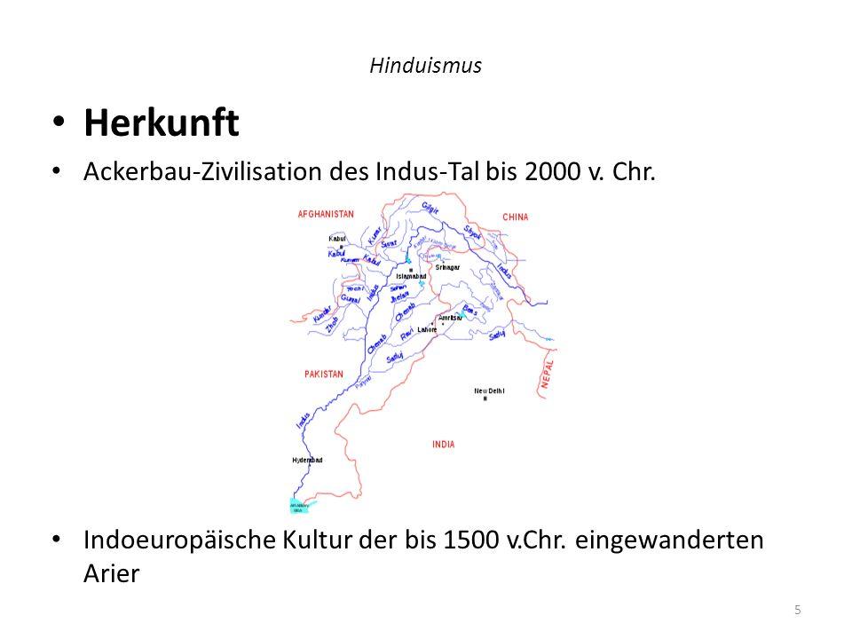 Herkunft Ackerbau-Zivilisation des Indus-Tal bis 2000 v. Chr.
