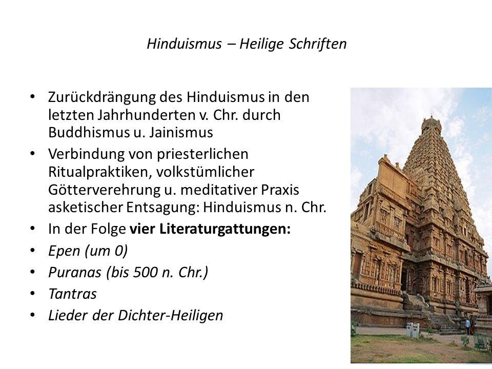 Hinduismus – Heilige Schriften