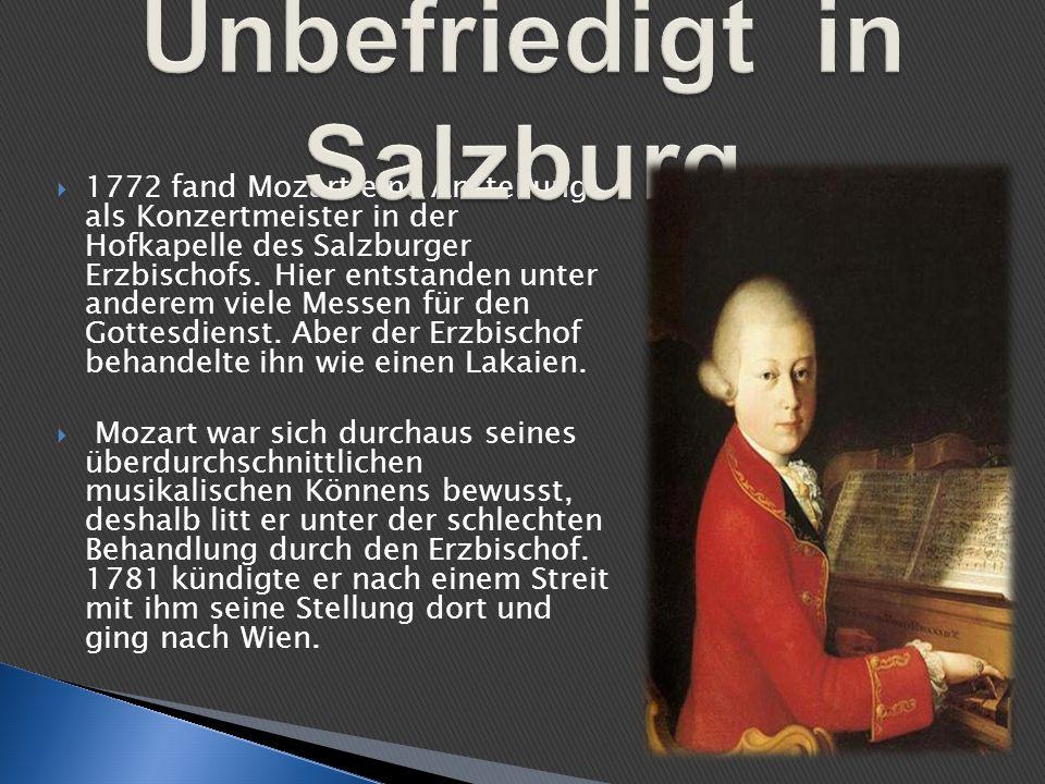 Unbefriedigt in Salzburg